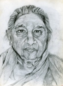Medium: Pencil on paper