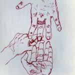 Medium: Pen on paper